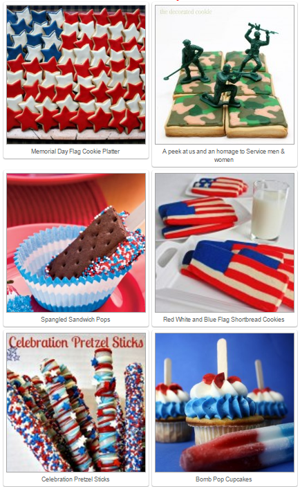 Fun memorial day ideas mamas blog central for Fun blog ideas
